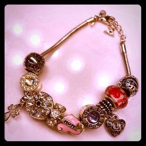 Avon charm bracelet.